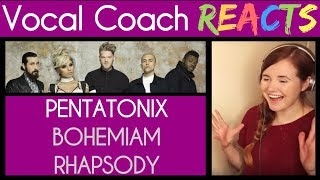 Vocal Coach Reacts to Bohemian Rhapsody (Queen) – Pentatonix