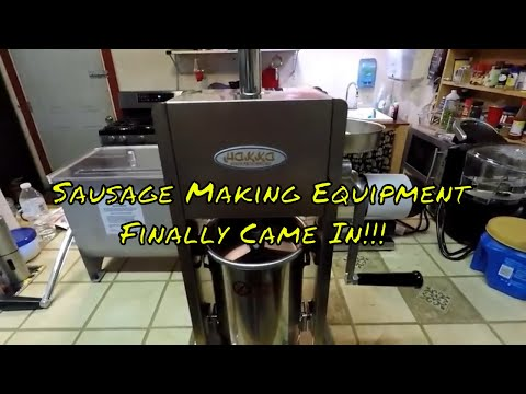 New Sausage Making Equipment Came In!!