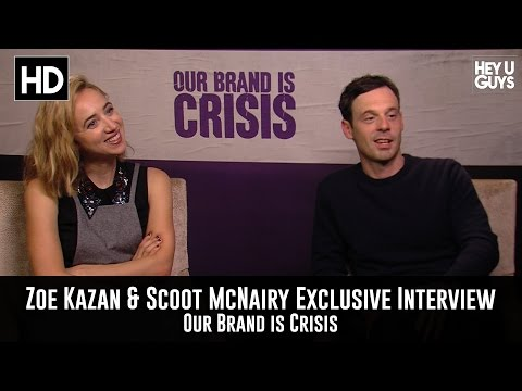 Zoe Kazan & Scoot McNairy Exclusive Interview: Our Brand is Crisis