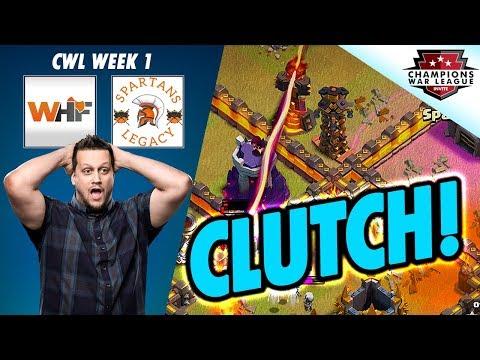 CLUTCH ENDING - iTzu's WHF DEBUT - WEEK 1 CWL