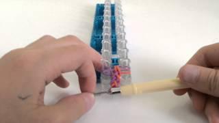 Урок 3 Браслет,,Французская Коса'' из резинок Rainbow Loom