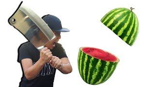 NTN - Thử Ném Và Chém Hoa Quả (Try to throw and slash fruit)