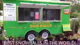 Block Ice And Snowballs Sold Here In Livingston Parish In New Snowball Stand Business