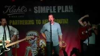 Simple Plan Live For Kiehl's Rocks For Kids (sept. 19, 2014)