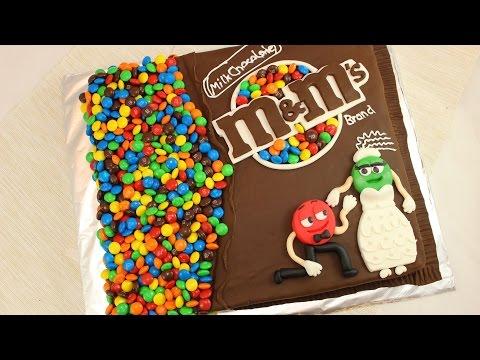 M&M Bag Cake I M&M Wedding Cake I how to make I engagement cake