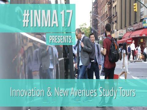 #INMA17 study tours take New York City