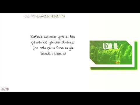 Diyar Pala _Uzak Ol (Lyrics Video) #Djnonamepresents