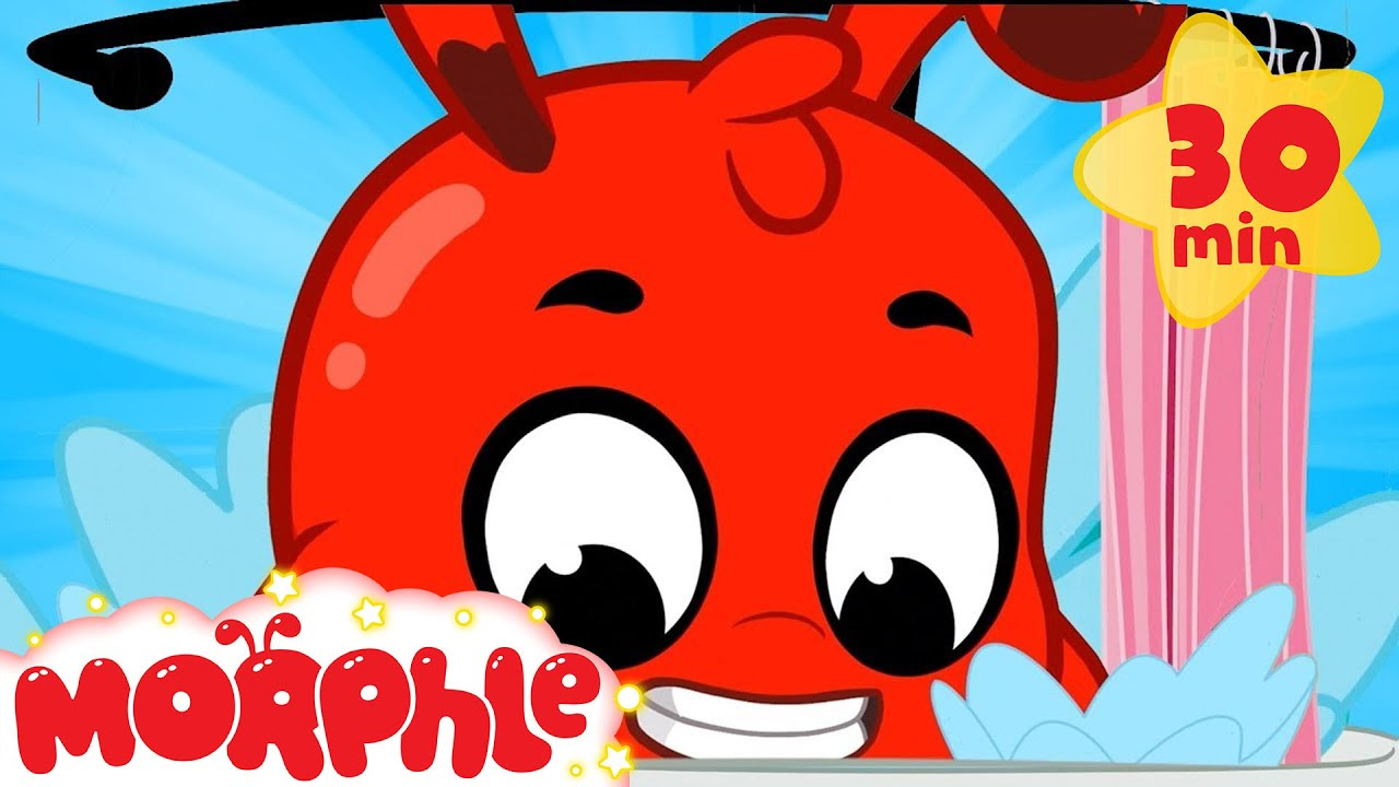 BATH TIME - My Magic Pet Morphle | Cartoons For Kids | Morphle TV | Kids Videos