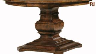 Hekman Round Dining Table 8-7221