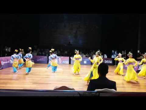 Malaysian Floor Pattern Sport Dance Competition