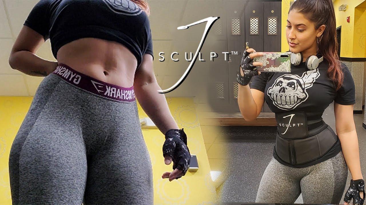 Gym Workout Using The JSculpt Fitness belt - JSculpt Review & Demo