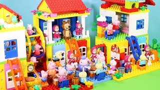 Peppa Pig Building Lego House Toys For Kids - Lego House Creations Toys #5
