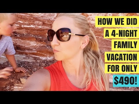How We Did A 4-Night Family Vacation For Only $490 Total!