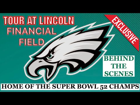 LINCOLN FINANCIAL FIELD TOUR HOME OF THE SUPER BOWL CHAMPS