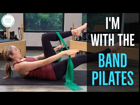 I'm with the Band Pilates (30 Minute Full Body Workout)