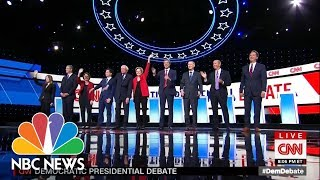 Democratic Debate: Highlights From Night One In Detroit | NBC News
