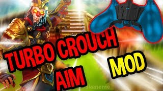 TUTO TURBO CROUCH AIM MOD ! Strike Pack fortnite FR
