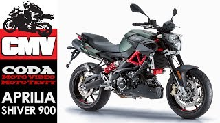 Aprilia Shiver 900 - test, opinia, recenzja, prezentacja, jazda testowa - CMV Moto Testy