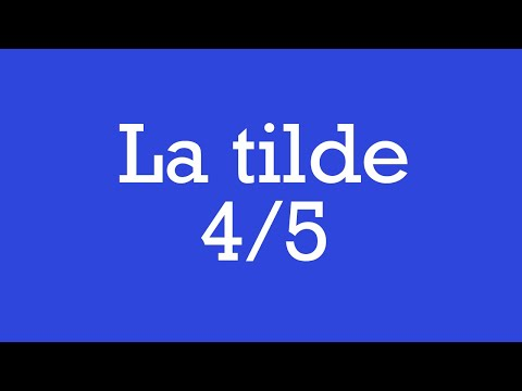 clases-de-ortografía---la-tilde-4/5