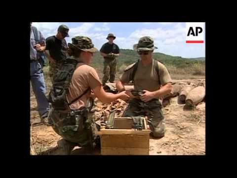 PANAMA: US TROOPS PREPARE FOR WITHDRAWAL OF MILITARY BASES
