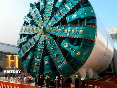 Engineering Disasters: A Look at a Tunnel Boring Machine | History