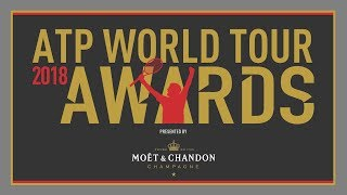 Uncovered: The Nominees For The 2018 ATP World Tour Awards presented by Moët & Chandon