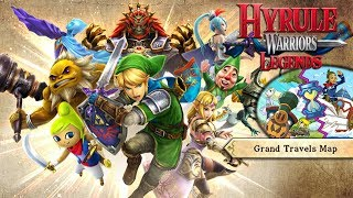 Hyrule Warriors Legends (Grand Travels Map - 100%) : Part 65 - H-5 / I-4 (Trident lv.4+!)