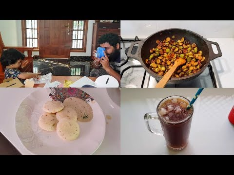 My Morning to Lunch Routine Vlog in Tamil - Unboxing & Cooking Rava Idli  Recipe - Yummy Tummy Tamil