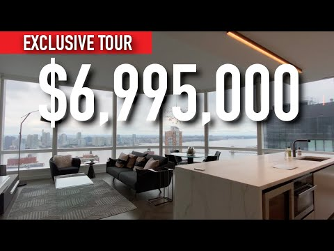 INSIDE A $6,995,000 CONDO WITH INSANE VIEWS OF THE HUDSON RIVER / NEW YORK TOUR SERIES / EP: 2