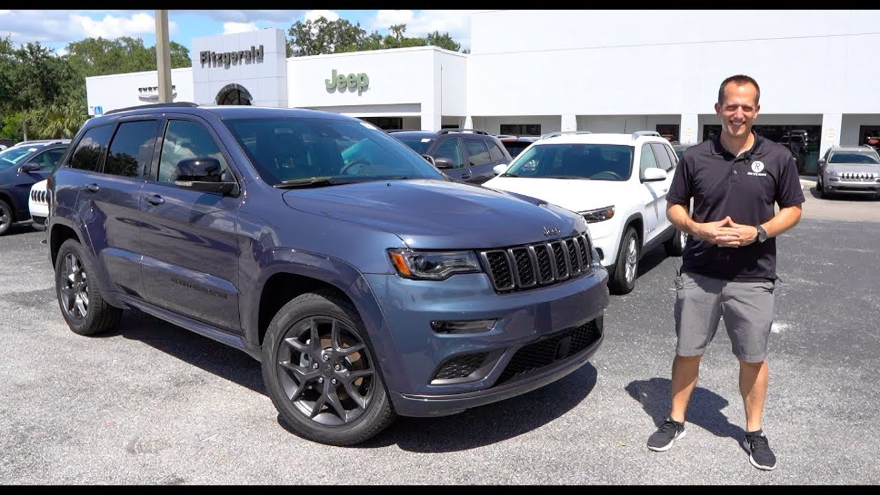 Is The New 2019 Jeep Grand Cherokee Limited X A Good Or Great Suv Youtube