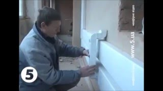 видео Монтаж воздуховода для кухонной вытяжки