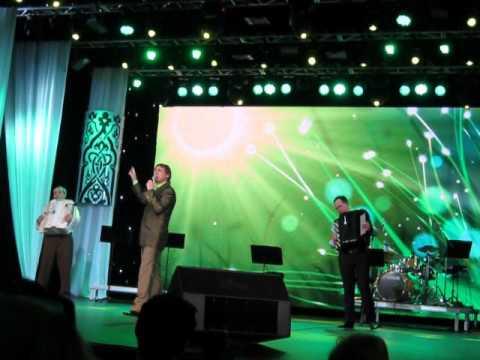 Ilham Valiev in Kazan . Tatar folk song Ense