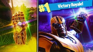 HOW TO GET THANOS EVERY GAME in Fortnite! - Fortnite Battle Royale THANOS SKIN GAMEPLAY Update!