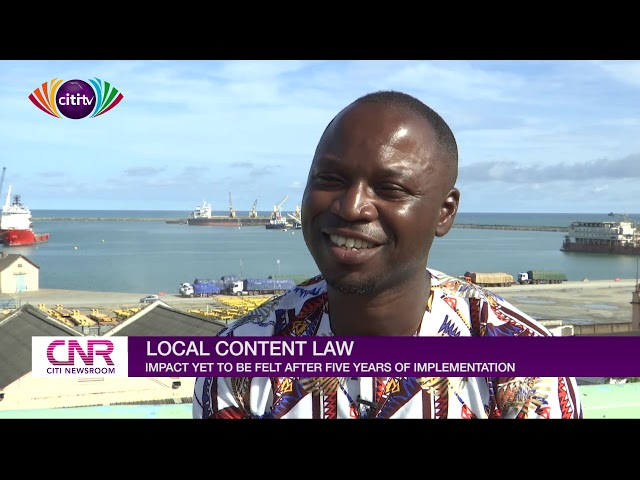 Petroleum Local content law not having the impact expected after five years