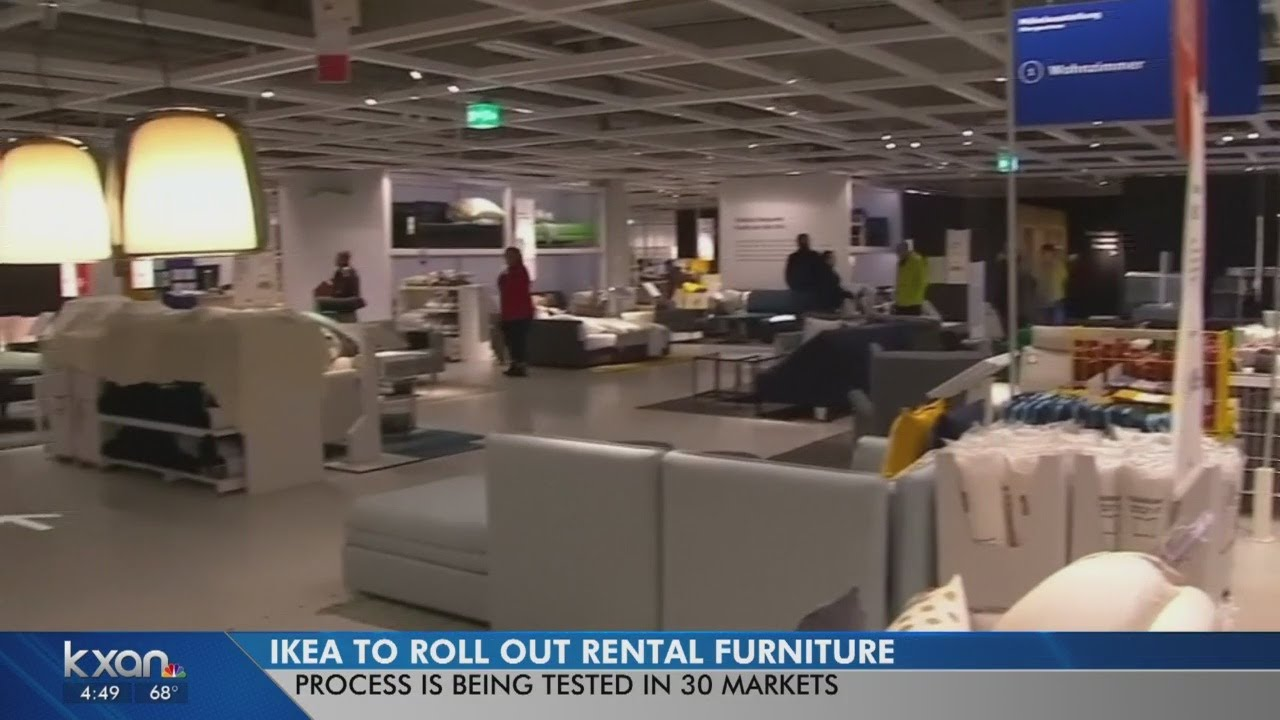 Ikea Rental Furniture Youtube