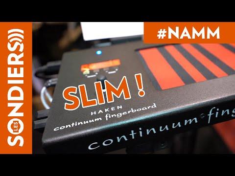 [NAMM2020] HAKEN AUDIO SLIM CONTINUUM