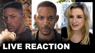 Gemini Man Trailer REACTION