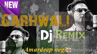 Blockbuster Garhwali DJ Remix 2018 || Amardeep Negi || Unplug Cover Garhwali Song || Krishna Music