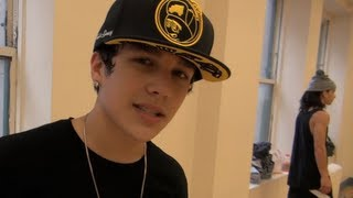 Austin Mahone's VMA Rehearsal Sneak Peek