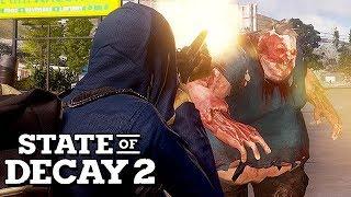 State of Decay 2 Gameplay German - Dieser Zombie dreht durch !!!