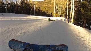 snowboarding wreck - separated shoulder