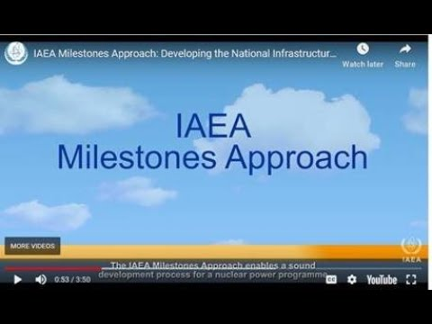 IAEA Milestones Approach: Developing the National Infrastructure for Nuclear Power