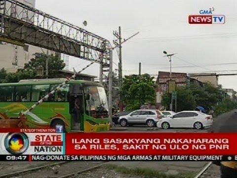 SONA: Ilang sasakyang nakaharang sa riles, sakit ng ulo ng PNR