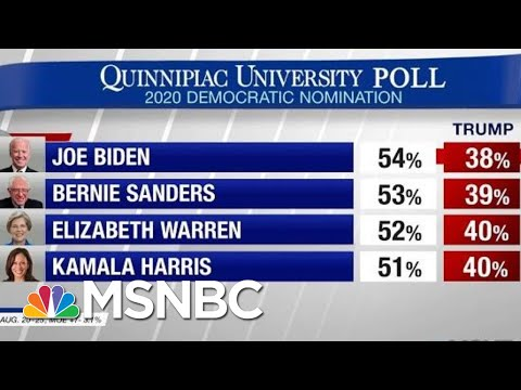 President Donald Trump Lagging Behind Democrats In 2020 Matchups | Hardball | MSNBC