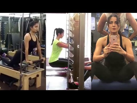 Katrina Kaif Hard WORKOUT In Gym For...