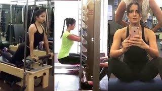 Katrina Kaif Hard WORKOUT In Gym For Salman Khan39;s Tiger Zinda Hai