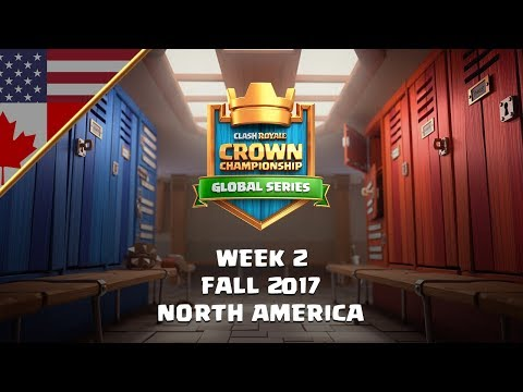 Clash Royale: Crown Championship NA Top 10 - Week Two | Fall 2017 Season