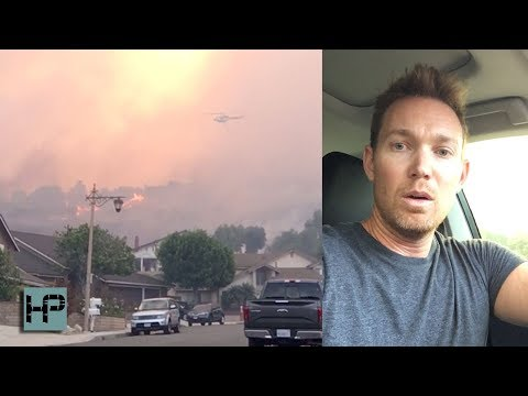 The Anaheim Hills Canyon Fire 2 Almost Took Us Out