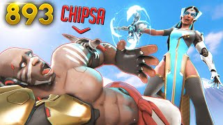Chipsa's LUCK Is INSANELY BAD!! | Overwatch Daily Moments Ep. 893