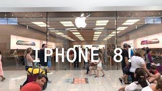 COMPRANDO 2 IPHONEs 8 NA APPLE DOS EUA! [em 4K60p do iPhone 8+]